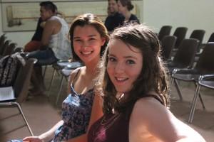 Caitlin and Kaileigh